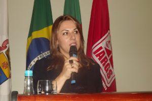 Reunião-almoço com a procuradora-geral de Porto Alegre