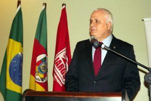 Reunião-almoço com o presidente da OAB/RS