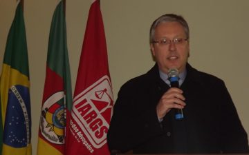 Reunião-almoço com o procurador-chefe da Procuradoria Regional da República, 4ª Região, Dr Fábio Bento Alves