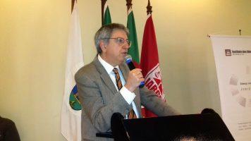 Reunião-almoço com o presidente do TJ, Luiz Felipe Silveira Difini