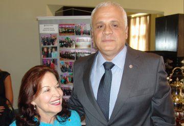 Reunião-Almoço com o presidente da OAB/RS, Ricardo Breier